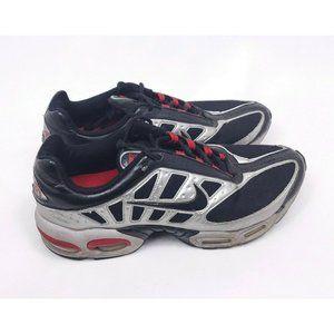 Nike Max Air Mens Size 9 Black Mesh Running Shoes